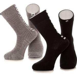ナイキ Nike ユニセックス ソックス インナー・下着 - JDI Crew Pack Of 2 Multi-Color - Socks multicolored|fermart-hobby