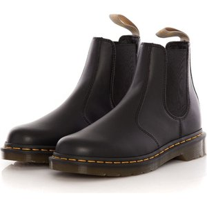 ドクターマーチン Dr. Martens レディース ブーツ チェルシーブーツ シューズ・靴 - Vegan 2976 Chelsea Boots Black Felix Rub Off black|fermart-hobby