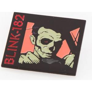 ブリンク 182 Blink 182 ユニセックス ブローチ ジュエリー・アクセサリー Skullafornia Pin black|fermart-hobby