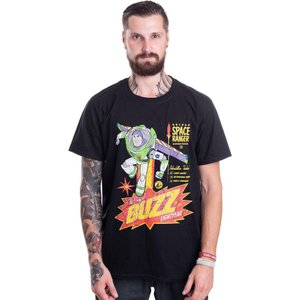 インペリコン Impericon メンズ Tシャツ トップス - The Original Buzz Lightyear - T-Shirt black|fermart-hobby