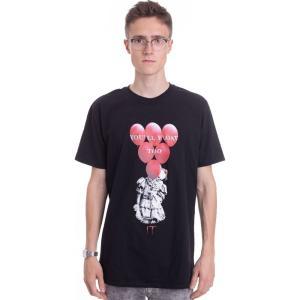 インペリコン Impericon メンズ Tシャツ トップス - Red Balloons Float - T-Shirt black|fermart-hobby
