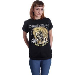 インペリコン Impericon レディース Tシャツ トップス - Killer World Tour 81 - T-Shirt black|fermart-hobby