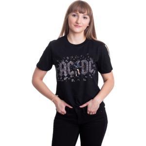 インペリコン Impericon レディース Tシャツ トップス - Those About To Rock - T-Shirt black|fermart-hobby