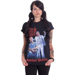 インペリコン Impericon レディース Tシャツ トップス - Spiritual Healing - T-Shirt black|fermart-hobby