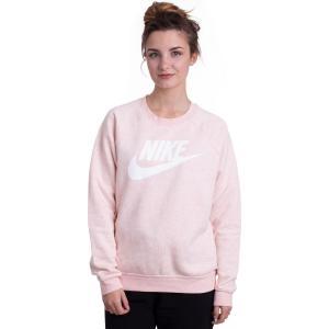 ナイキ Nike レディース ニット・セーター トップス Sportswear Rally Storm Pink/Heather/White Sweater pink|fermart-hobby