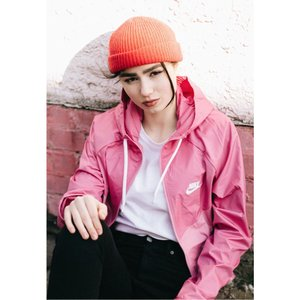 ナイキ Nike レディース ジャージ アウター - Sportswear Windrunner Cosmic Fuchsia/Magic Flamingo/White - Track Jacket|fermart-hobby