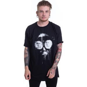 インペリコン Impericon メンズ Tシャツ トップス - Inked Mask - T-Shirt black|fermart-hobby