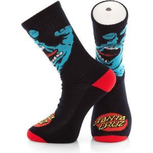 サンタクルーズ Santa Cruz ユニセックス ソックス インナー・下着 Screaming Hand Black Socks black|fermart-hobby