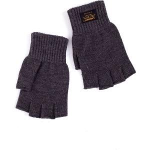 カーハート Carhartt WIP ユニセックス 手袋・グローブ Military Mitten Acrylic Dark Grey Heather Gloves grey|fermart-hobby