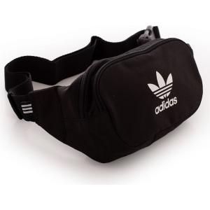 アディダス Adidas ユニセックス ボディバッグ・ウエストポーチ バッグ - Essential Black - Hip Bag black|fermart-hobby
