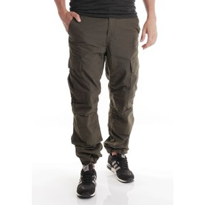 カーハート Carhartt WIP メンズ カーゴパンツ ボトムス・パンツ - Regular Cargo Columbia Ripstop Cypress Rinsed - Pants green|fermart-hobby
