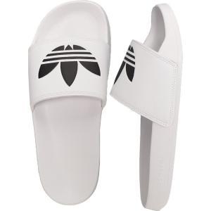 アディダス Adidas メンズ サンダル シューズ・靴 - Adilette Lite FTW White/Core Black/FTW White - Sandals|fermart-hobby