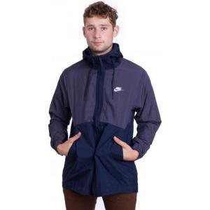 ナイキ Nike メンズ ジャケット アウター Sportswear Gridiron/Obsidian/White Jacket blue fermart-hobby