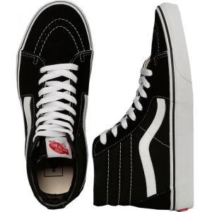ヴァンズ Vans レディース スニーカー シューズ・靴 Sk8-Hi Black/Black/White Shoes black fermart-hobby