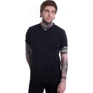 ディッキーズ Dickies メンズ Tシャツ Vネック トップス - V Neck PK Black - T-Shirt black fermart-hobby