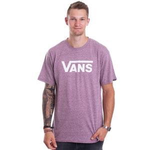 ヴァンズ Vans メンズ Tシャツ トップス - Classic Heather Prune - T-Shirt burgundy fermart-hobby