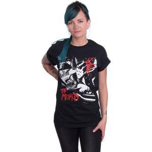 インペリコン Impericon レディース Tシャツ トップス - Bullet - T-Shirt black|fermart-hobby