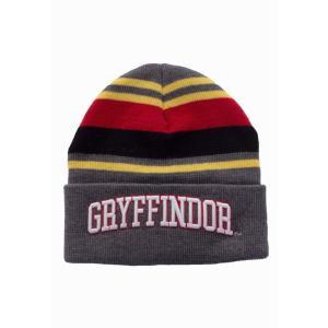 インペリコン Impericon ユニセックス ニット ビーニー 帽子 - Gryffindor Roll Up - Beanie grey fermart-hobby