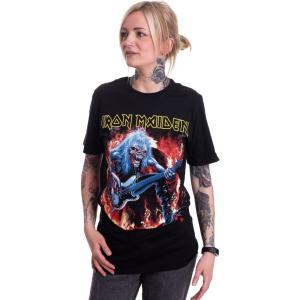 インペリコン Impericon レディース Tシャツ トップス - Fear Live Flames - T-Shirt black|fermart-hobby
