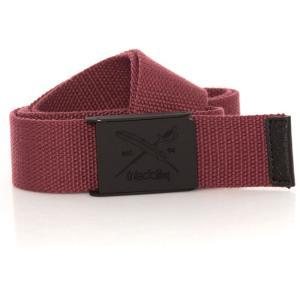 アーライダイリー Iriedaily ユニセックス ベルト Flag Rubber Red Wine Belt red|fermart-hobby