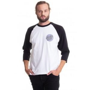 サンタクルーズ Santa Cruz メンズ 長袖Tシャツ トップス - Rob Dot 2 L/S Baseball Black/White - Longsleeve black|fermart-hobby