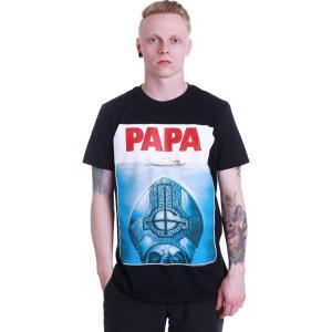 インペリコン Impericon メンズ Tシャツ トップス - Papa Jaws - T-Shirt black|fermart-hobby