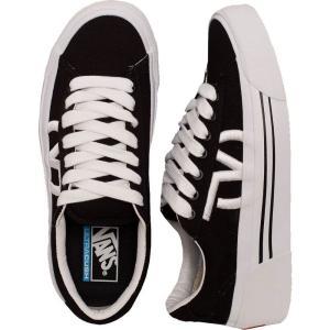 ヴァンズ Vans レディース スニーカー シューズ・靴 Sid Ni Staple Black/True White Shoes black fermart-hobby