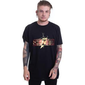 インペリコン Impericon メンズ Tシャツ トップス - Shazam Logo - T-Shirt black|fermart-hobby