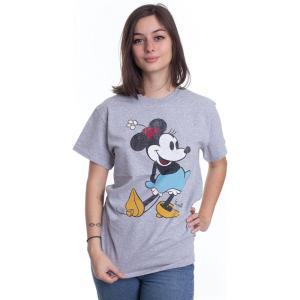 インペリコン Impericon レディース Tシャツ トップス Disney - Minnie Kick - T-Shirt black|fermart-hobby