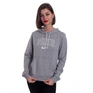 ナイキ Nike レディース パーカー トップス Sportswear Dark Grey Heather/Matte Silver/Sail Hoodie grey|fermart-hobby