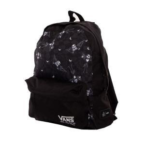 ヴァンズ Vans ユニセックス バックパック・リュック X Nightmare Before Christmas - Jacks Check Realm Backpack Jack Check/Nightmare - Backpack black fermart-hobby