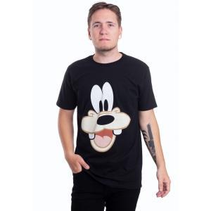 インペリコン Impericon メンズ Tシャツ トップス Disney - Goofy Face-Up - T-Shirt black|fermart-hobby