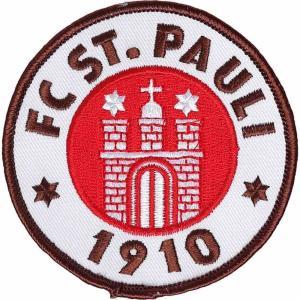 FCザンクトパウリ FC St. Pauli ユニセックス 雑貨 Logo Patch black|fermart-hobby
