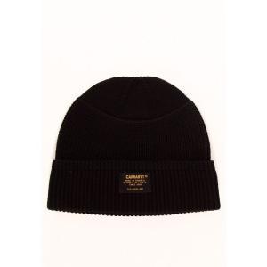 カーハート Carhartt WIP ユニセックス ニット ビーニー 帽子 - Truman Black - Beanie black|fermart-hobby
