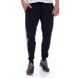 アディダス Adidas メンズ スウェット・ジャージ ボトムス・パンツ - 3 Stripes Black - Sweat Pants black|fermart-hobby