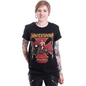 インペリコン Impericon レディース Tシャツ トップス - Hero Of Eternia - T-Shirt black|fermart-hobby