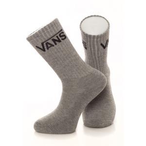 ヴァンズ Vans ユニセックス ソックス インナー・下着 - Classic Crew Heather Grey - Socks grey fermart-hobby