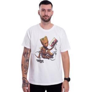 インペリコン Impericon メンズ Tシャツ トップス - Groot And Tape White - T-Shirt white|fermart-hobby