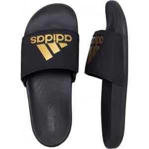 アディダス Adidas メンズ サンダル シューズ・靴 - Adilette Comfort Core Black/Gold Met./Core Black - Sandals black|fermart-hobby