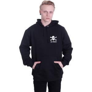 FCザンクトパウリ FC St. Pauli メンズ パーカー トップス Totenkopf II Hoodie black|fermart-hobby