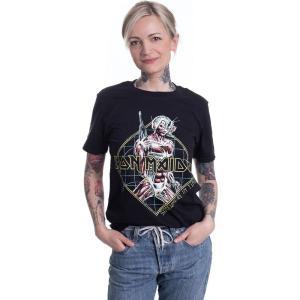 インペリコン Impericon レディース Tシャツ トップス - Somewhere In Time Diamond - T-Shirt black|fermart-hobby