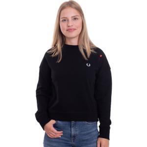 フレッドペリー Fred Perry レディース ニット・セーター トップス - Heart Detail Black - Sweater black|fermart-hobby