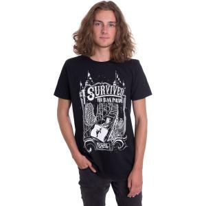 インペリコン Impericon メンズ Tシャツ トップス - I Survived - T-Shirt black|fermart-hobby