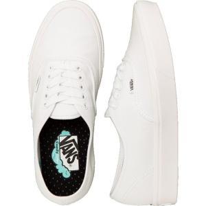 ヴァンズ Vans レディース スニーカー シューズ・靴 ComfyCush Authentic Classic True White/True White Shoes white fermart-hobby