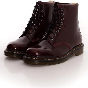 ドクターマーチン Dr. Martens レディース ブーツ シューズ・靴 - Vegan 1460 Cherry Red Oxford Rub Off Red red|fermart-hobby