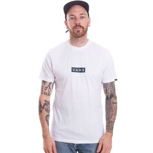 ヴァンズ Vans メンズ Tシャツ トップス - Easy Box White/Dress Blues - T-Shirt white|fermart-hobby