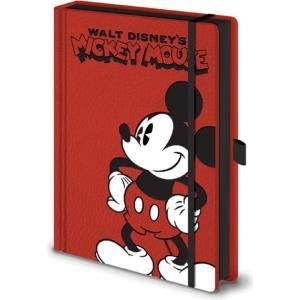 ミッキーマウス Mickey Mouse グッズ Pose A5 Premium Red Notebook red fermart-hobby