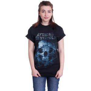 アヴェンジド セヴンフォールド Avenged Sevenfold レディース Tシャツ トップス Galaxy T-Shirt black|fermart-hobby