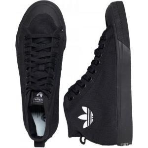 アディダス Adidas メンズ スケートボード シューズ・靴 - Nizza Hi Core Black/Core Black/Ftwr White - Shoes black|fermart-hobby