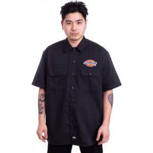 ディッキーズ Dickies メンズ シャツ トップス Clintondale Black Shirt black fermart-hobby